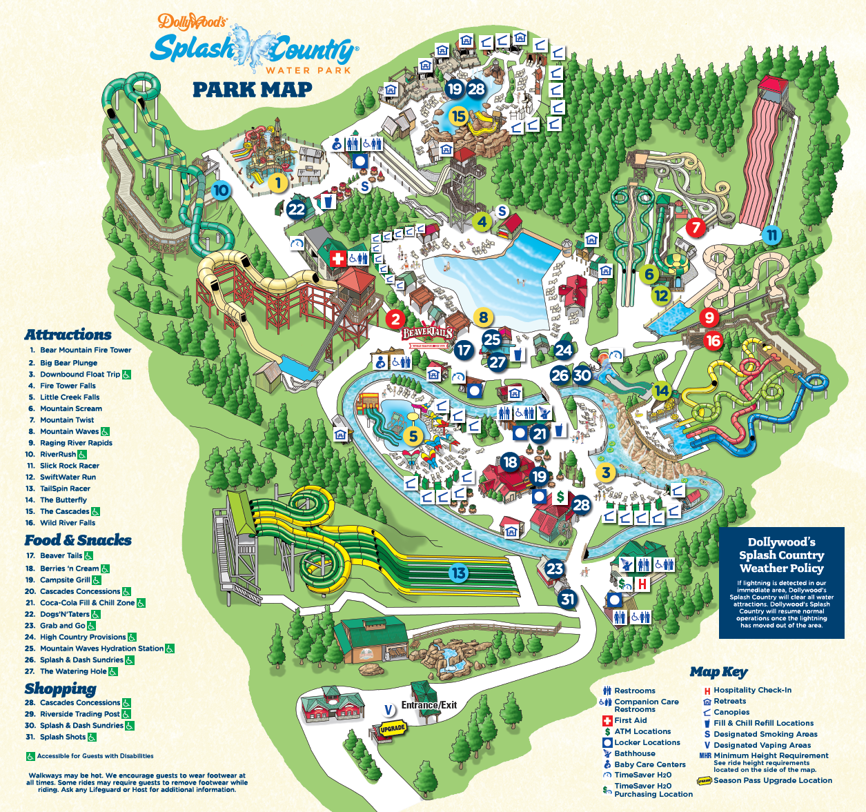 My Favorite Dollywood's Splash Country Tip – Dollywood Insiders