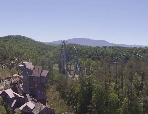 "Drop In to Experience Dollywood's New ""Drop Line"" Attraction!"