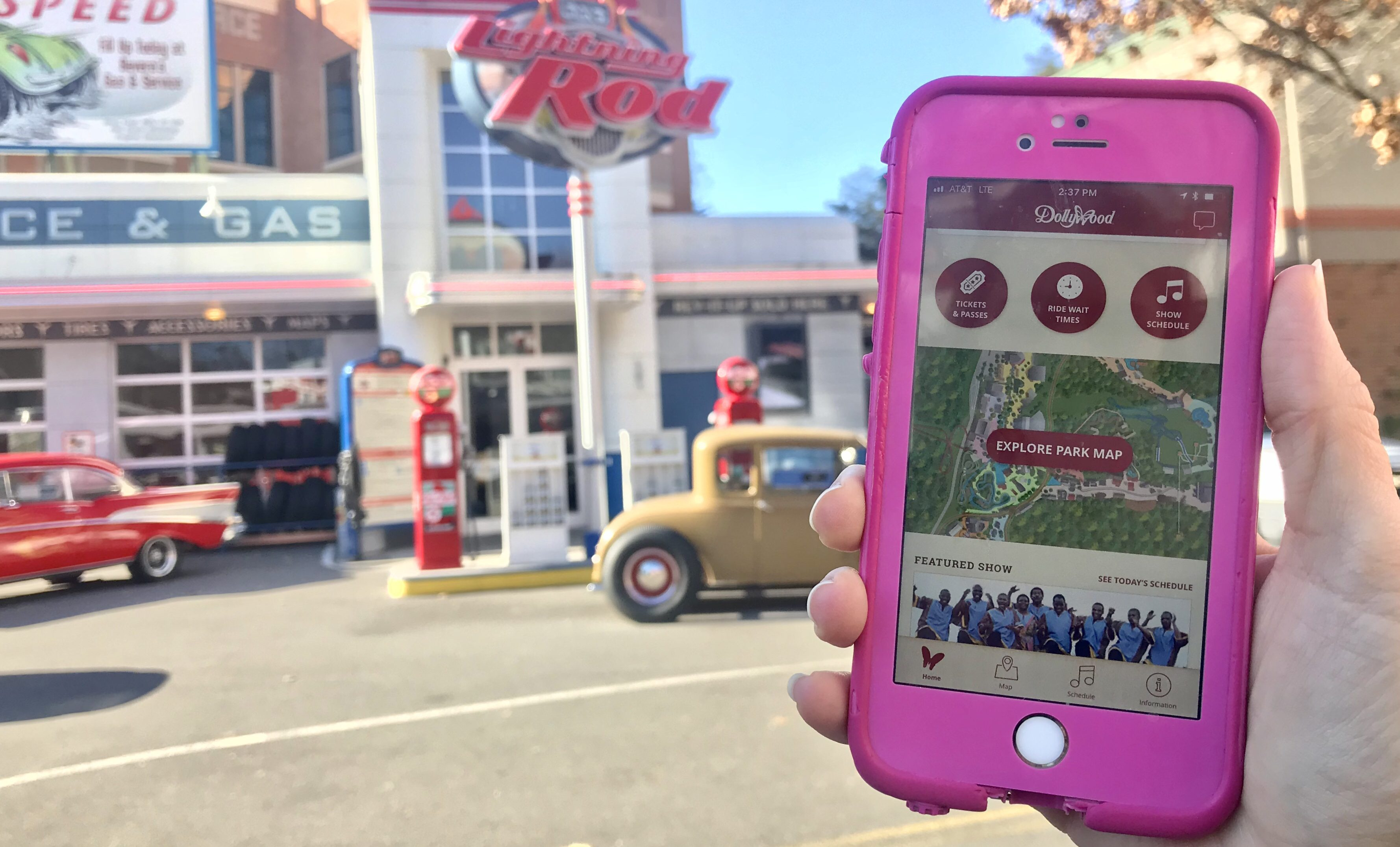 my five favorite features of dollywood's new mobile app – dollywood