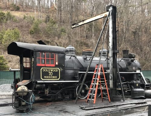 Dollywood Express Overhauled in Off-Season