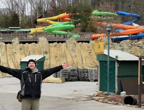 What Happens at Dollywood's Splash Country in the Winter?