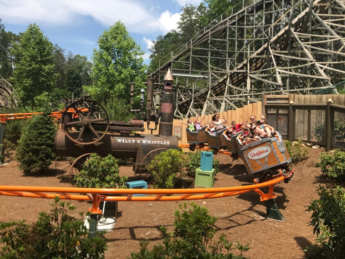 Top 6 Spots To Watch Coasters At Dollywood Dollywood Insiders