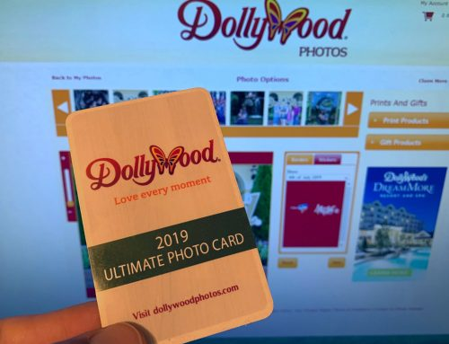 Saving Memories with Dollywood's Photo Card
