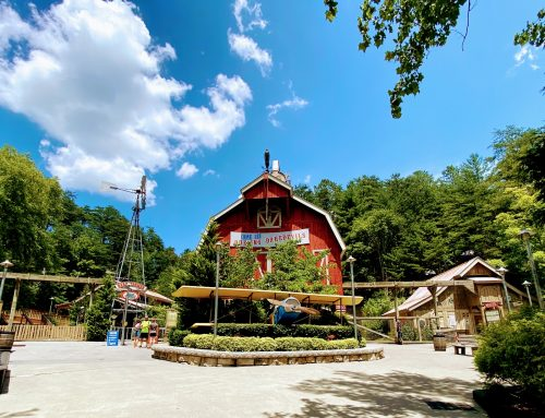 The Backstory Behind Dollywood's Barnstormer (And Owens Farm)