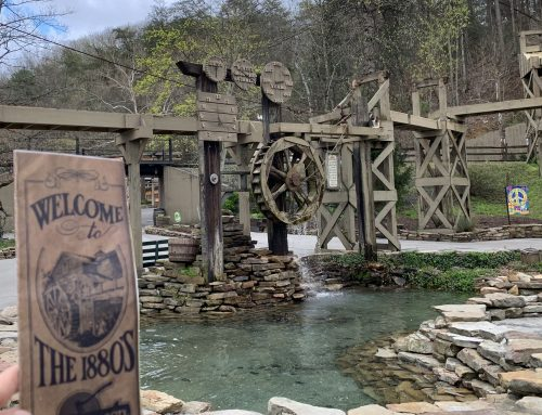 History Lesson: Dollywood's Water Clock