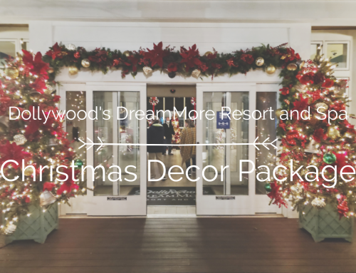 What is the Christmas Tree Décor Package at the Resort?