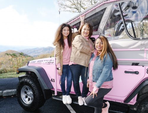 What is a Pink Jeep Adventure Tour?