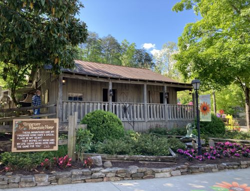 Visit Dolly's Tennessee Mountain Home at Dollywood