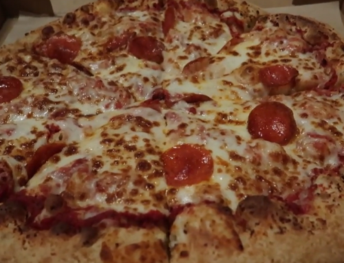 Try the Resort's Pizza